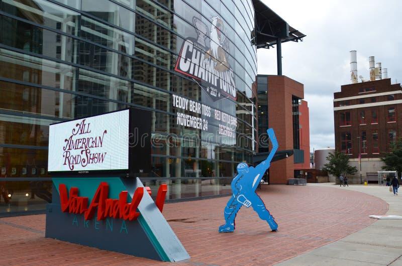 Van Andel Arena à Grand Rapids photos stock