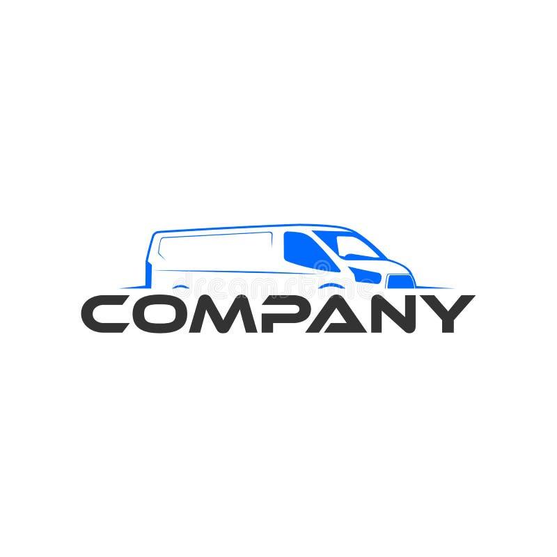 Van-Automobillogoschablone lizenzfreies stockfoto