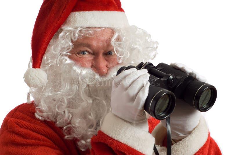 Van bedrijfs Kerstman Strategie royalty-vrije stock foto's