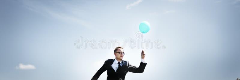 Van bedrijfs zakenmanrelaxation refreshing success Concept royalty-vrije stock fotografie