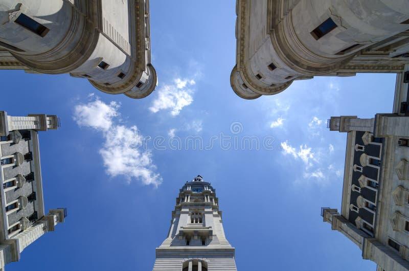 Van binnen het Stadhuis van Philadelphia stock afbeelding