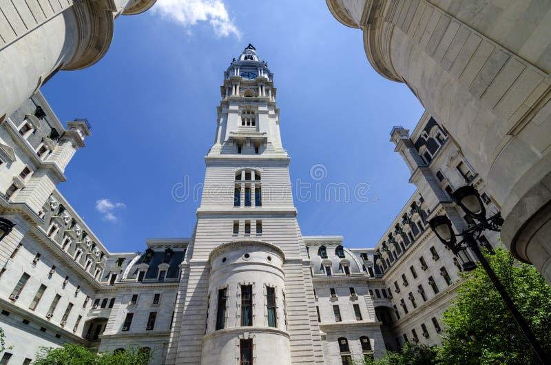 Van binnen het Stadhuis van Philadelphia. stock afbeeldingen