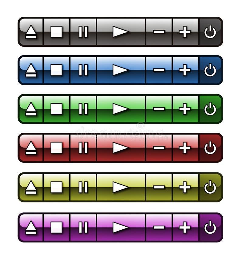 Van Botones DE- audio royalty-vrije stock afbeeldingen