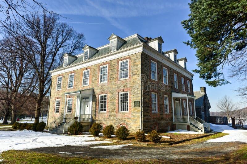 Van Cortlandt Manor σπίτι στοκ φωτογραφίες
