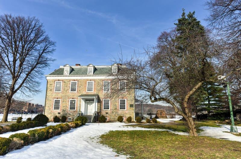 Van Cortlandt Manor House fotografering för bildbyråer