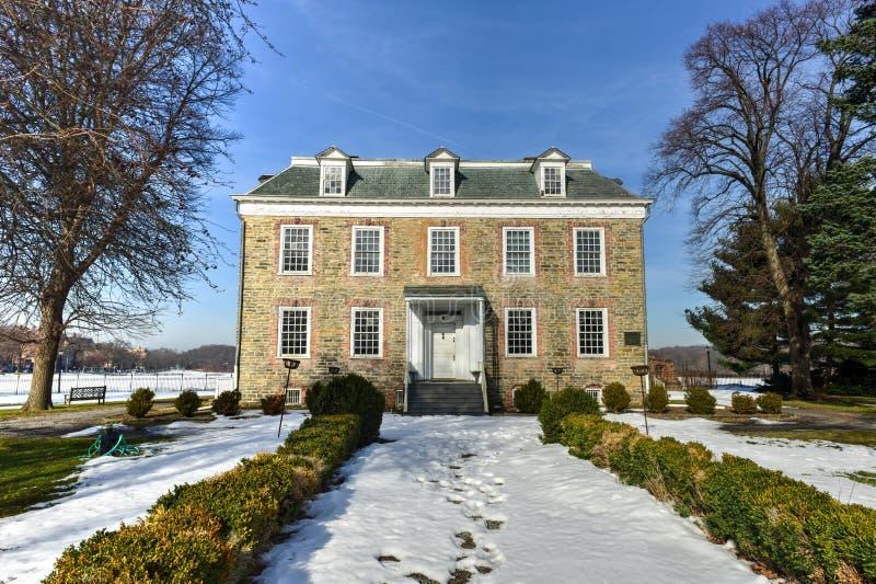 Van Cortlandt Manor House stock afbeelding