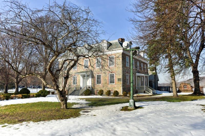 Van Cortlandt Manor House royalty-vrije stock afbeelding