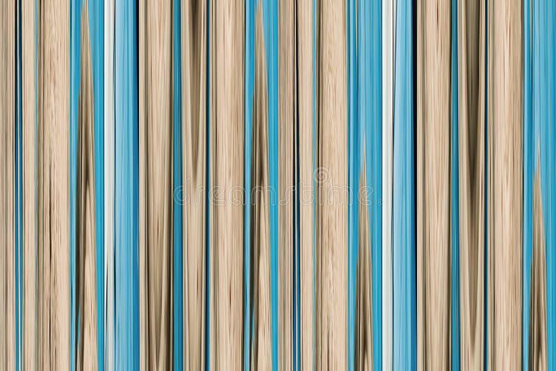 Van de van achtergrond abstractie de beige blauwe houten grunge boomstam van het de lijnenbamboe pastelkleurtoon verticale royalty-vrije illustratie