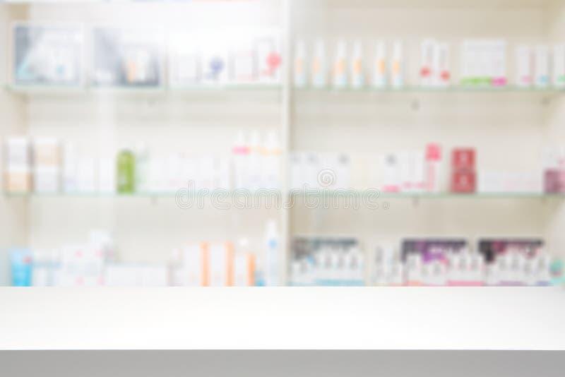 Van de achtergrond apotheekdrogisterij concept stock fotografie