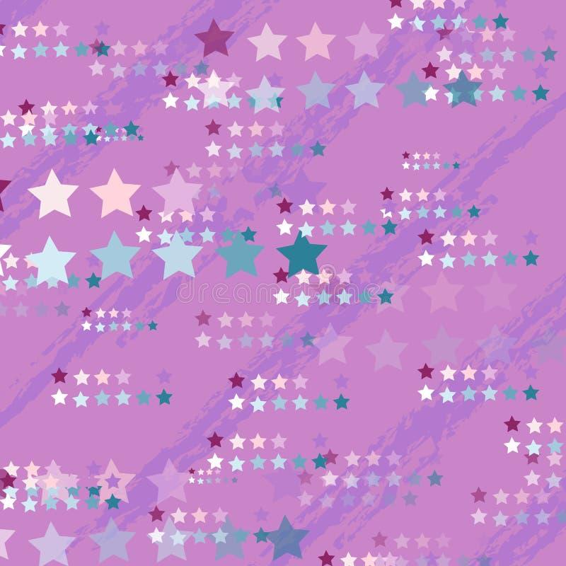 Van de van de achtergrond eenhoornachtergrond het netwerk vectorheelal kleurengradiënt royalty-vrije illustratie