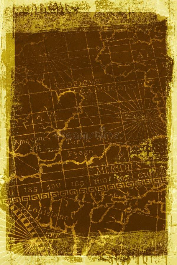 Van de Achtergrond kaart van Grunge textuur royalty-vrije stock foto's
