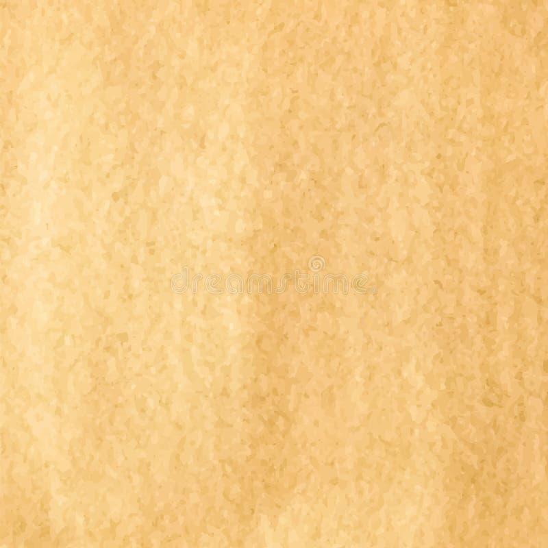 Van de achtergrond koffievlek vierkant vector illustratie