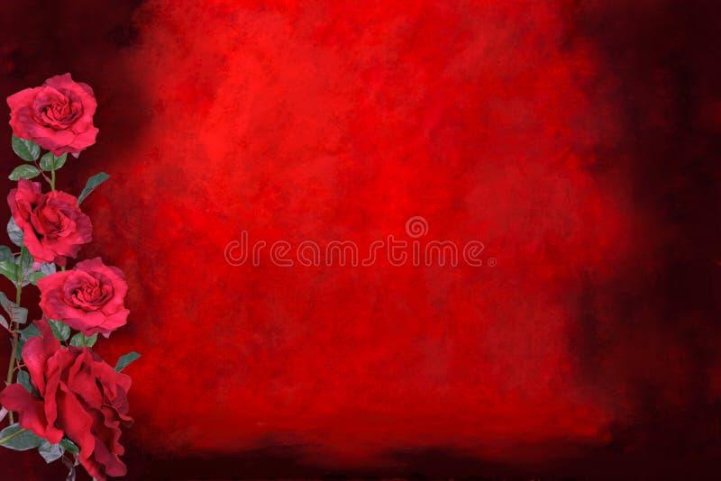 Van de Achtergrond liefde van de valentijnskaart Achtergrond (neem uw cliënt op) royalty-vrije stock afbeeldingen