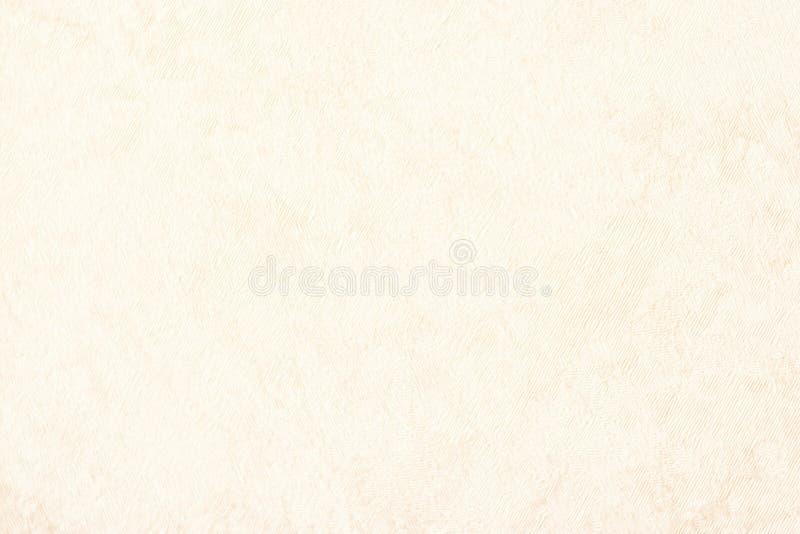 Van de achtergrond roomtextuur document beige kleur, perkamentdocument, websiteachtergrond stock foto