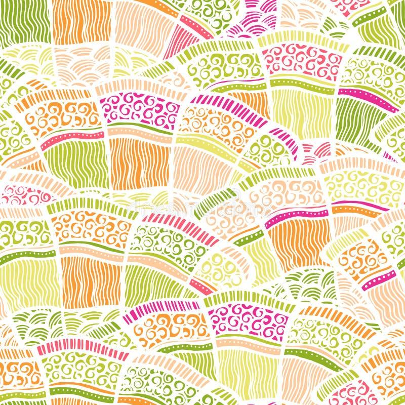 Van de Achtergrond seamleslente patroon stock illustratie