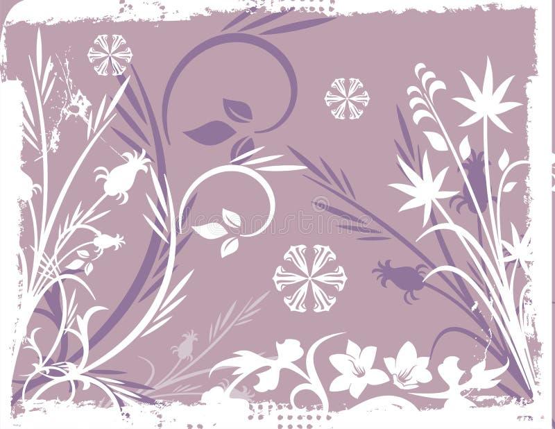 Van de achtergrond winter Reeks vector illustratie