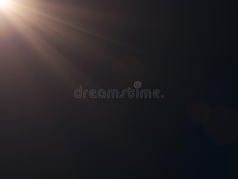 Van de achtergrond zon helder gloed gloedlicht helder voor van de achtergrond bekledingszon ontwerp stock afbeelding