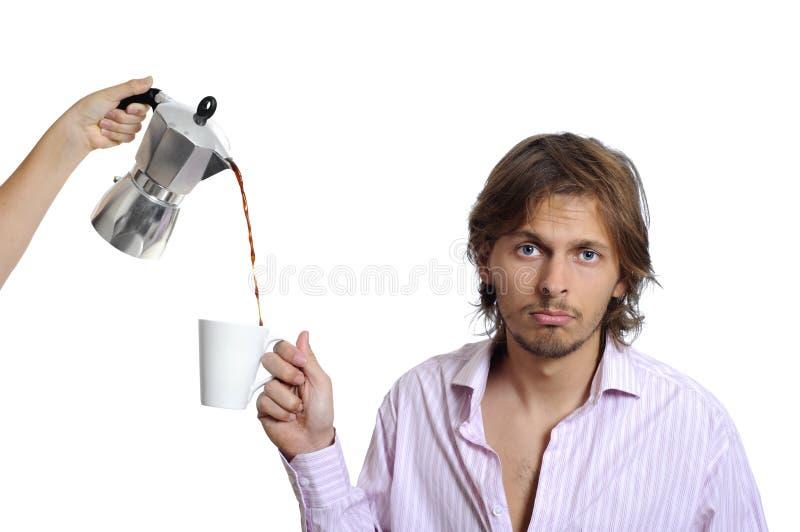 Van de bedrijfs koffie concept royalty-vrije stock afbeeldingen