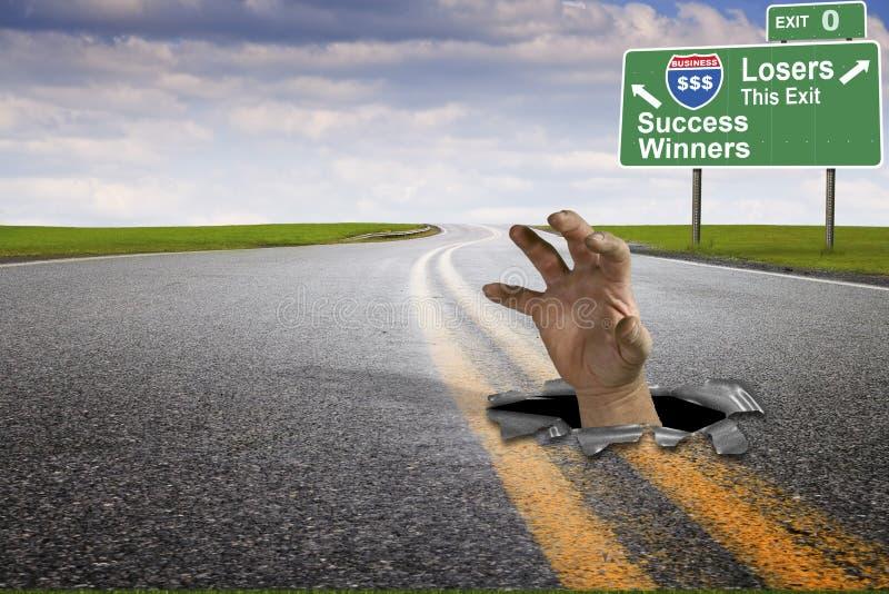 Van de bedrijfs marketing succes stock foto's