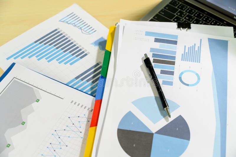 van de de Bedrijfs statistiekeninformatie van Analytics van het werk harde Gegevens Technologie stock fotografie