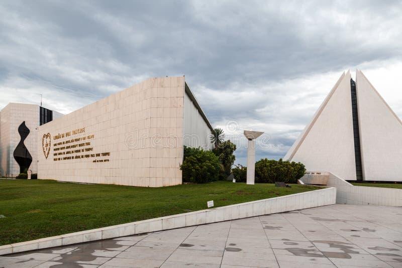 Van de Boavontade van Legiaoda de Tempel Brasilia royalty-vrije stock foto