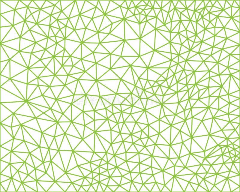 Van de de achtergrond tegelstof van de veelhoek het geometrische grafische dekking het patroon van het Abstracte behang vectorill royalty-vrije illustratie