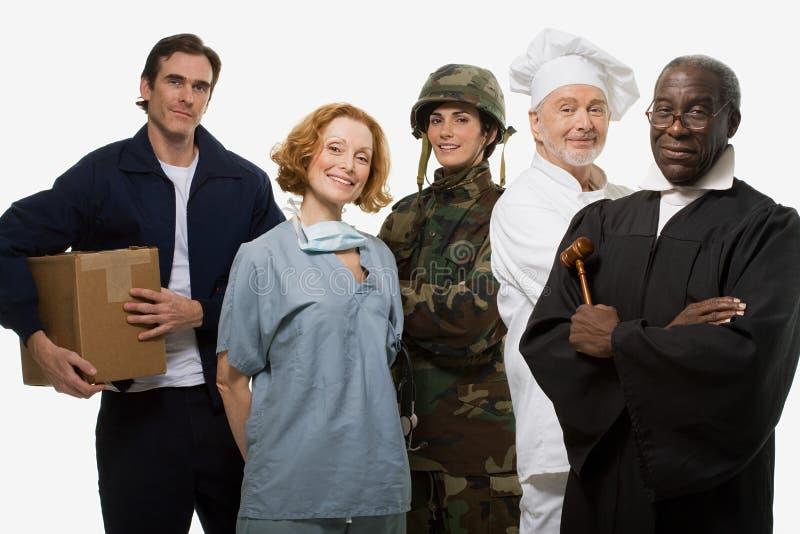 Van de de chirurgenmilitair van de leveringsmens de chef-kok en de rechter royalty-vrije stock fotografie