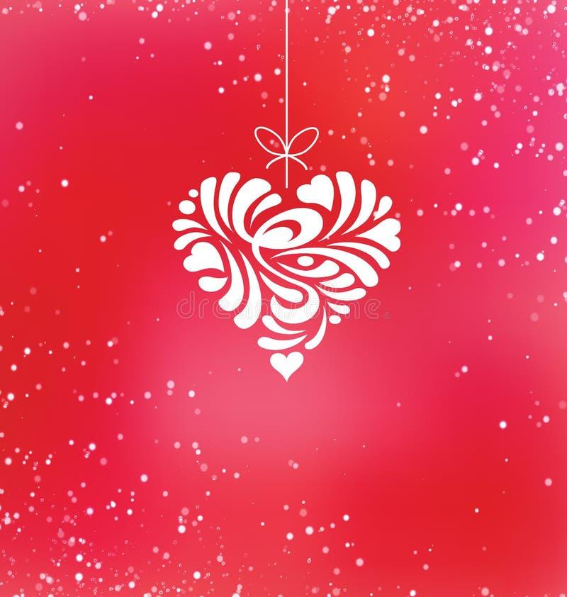 Van de de daggroet van gelukkig Valentine de kaartontwerp vector illustratie