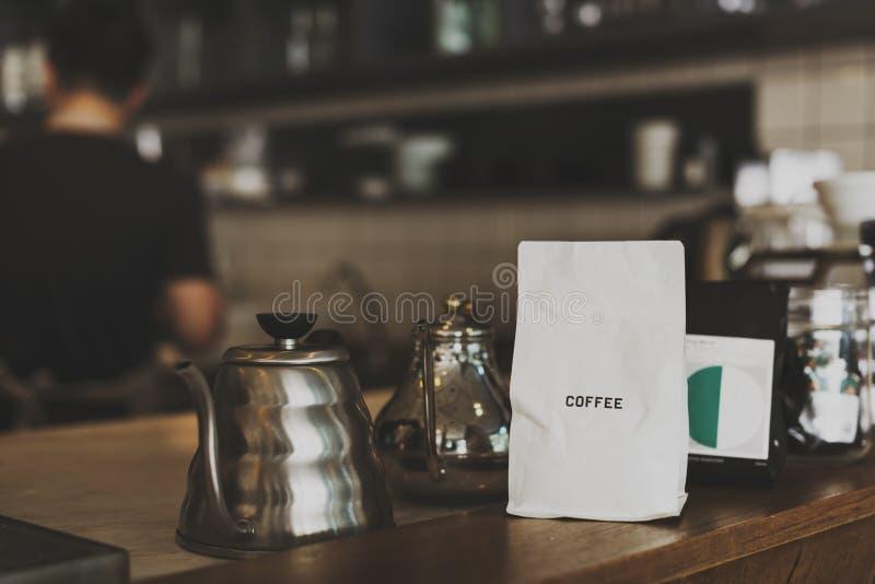 Van de de Drankonderbreking van de koffiekoffie het Verse Aroma royalty-vrije stock foto