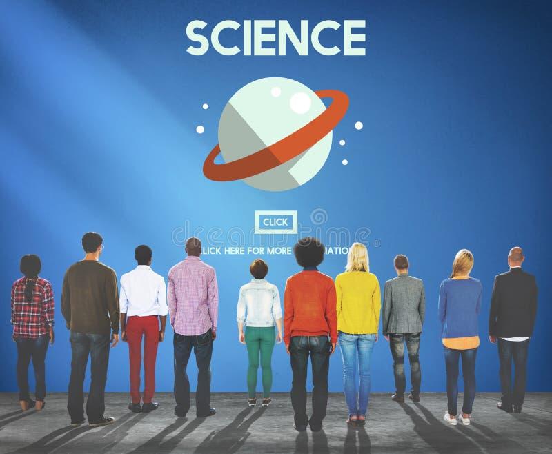 Van de de Fysicabiologie van de wetenschapschemie het Concept van de het Onderzoekstudie stock afbeelding