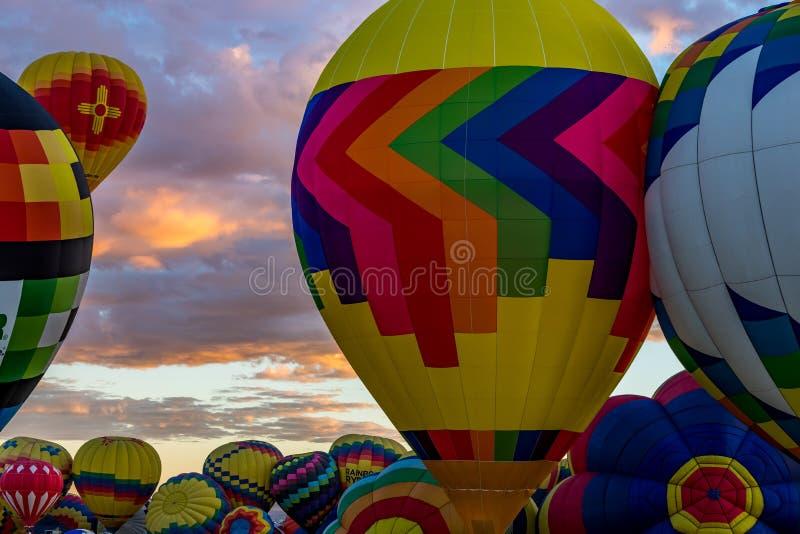Van de de Hete Luchtballon van Albuquerque de Fiesta 2016 royalty-vrije stock fotografie