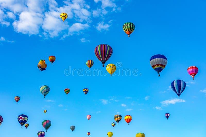 Van de de Hete Luchtballon van Albuquerque de Fiesta 2016 stock fotografie