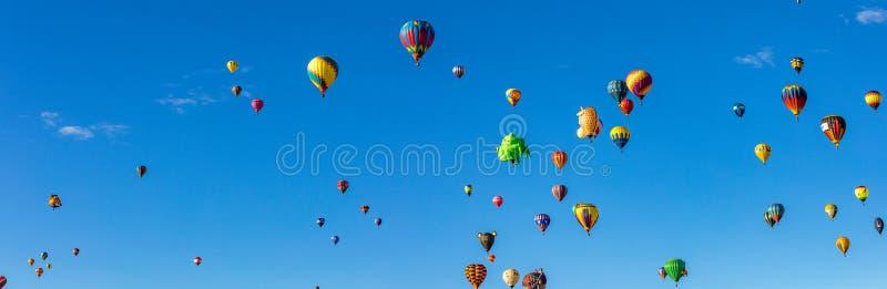 Van de de Hete Luchtballon van Albuquerque de Fiesta 2016 stock foto's