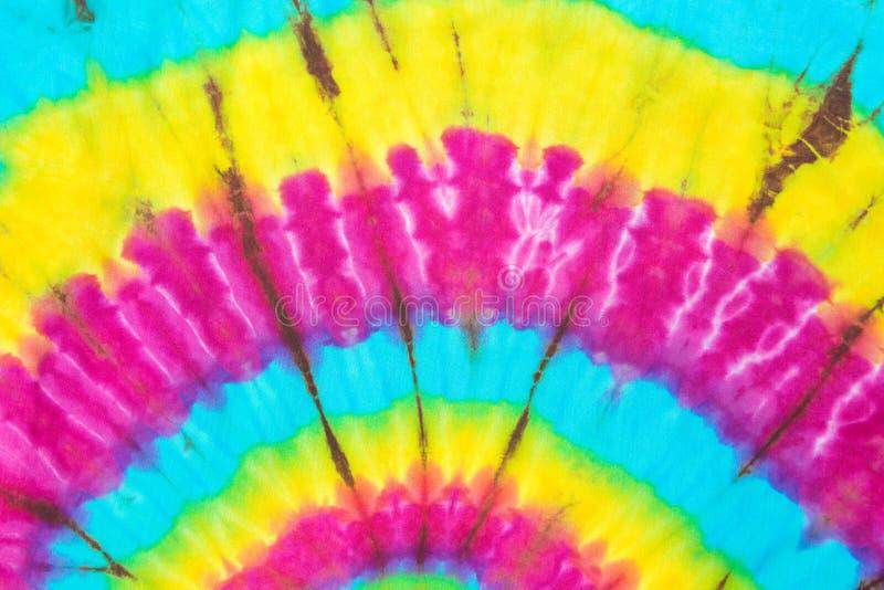 Van de de Kleurstofkleur van de stoffenband de Textuurachtergrond royalty-vrije stock fotografie