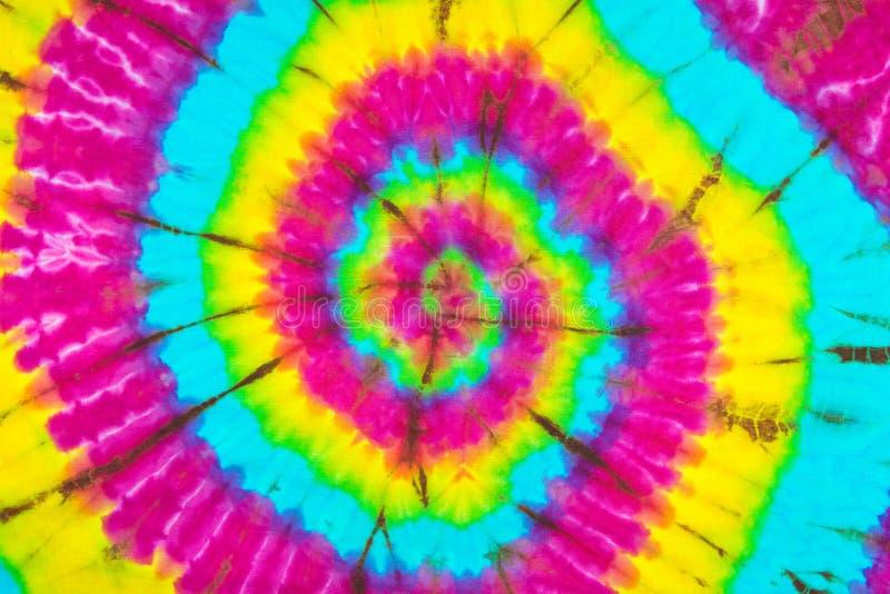 Van de de Kleurstofkleur van de stoffenband de Textuurachtergrond stock afbeelding