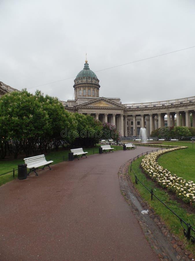 Van de de stadszomer van St. Petersburg de reis Rusland royalty-vrije stock afbeelding