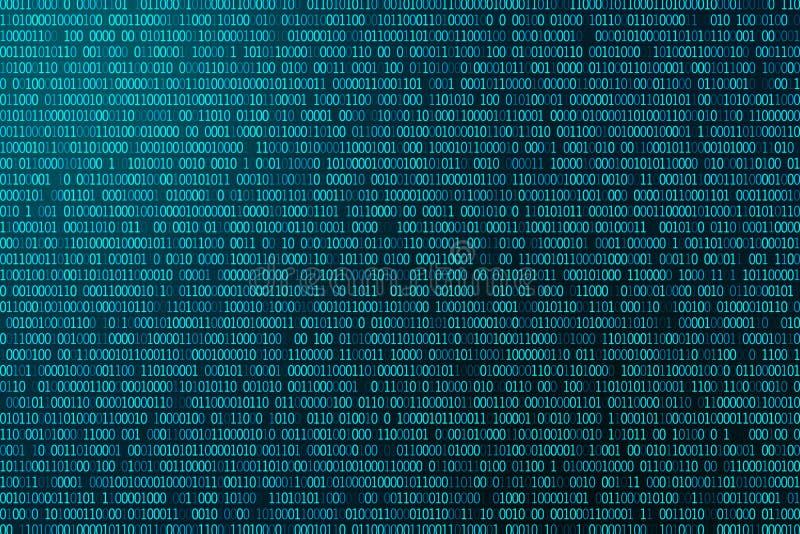 Van de de gloeddigitale computer van het random numbersnet de textuur van de de technologieinformatie stock afbeelding