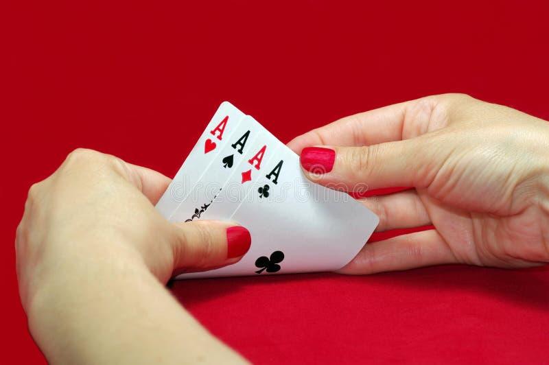Van de het casinoflits van speelkaarten de koninklijke spades stock foto's