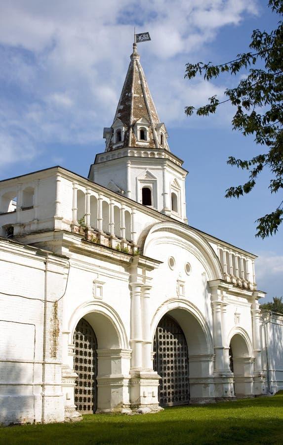Van de het eilandpoort van Moskou Izmailovsky het museumdomein royalty-vrije stock fotografie