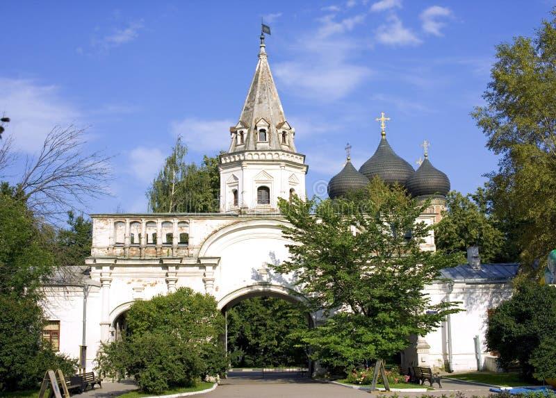 Van de het eilandpoort van Moskou Izmailovsky Koninklijke de manorwoonplaats royalty-vrije stock afbeelding