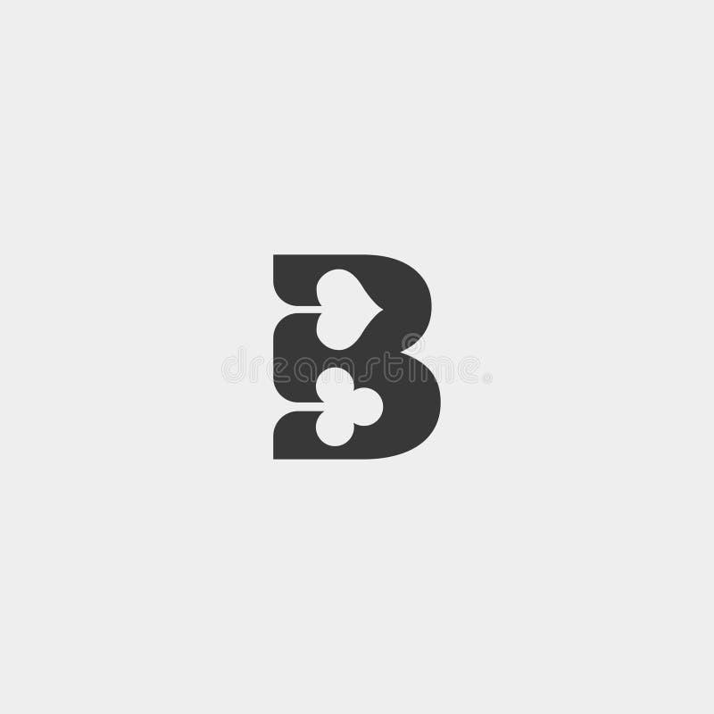 van de het embleemontwerpsjabloon van de brievenb pook element van het de illustratiepictogram het vector stock illustratie