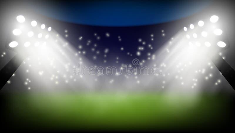 Van de het Kampioenschapskop van de voetbalwereld de Abstracte Achtergrond vector illustratie