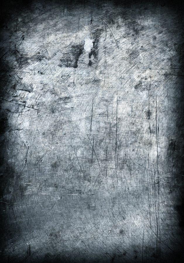 Van de het metaalplaat van Grunge het staalachtergrond. royalty-vrije stock foto's