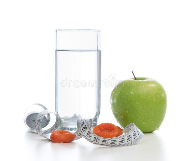 Van de het ontbijtdiabetes van de Diettingssport van het het gewichtsverlies measu van de het conceptenband stock afbeeldingen