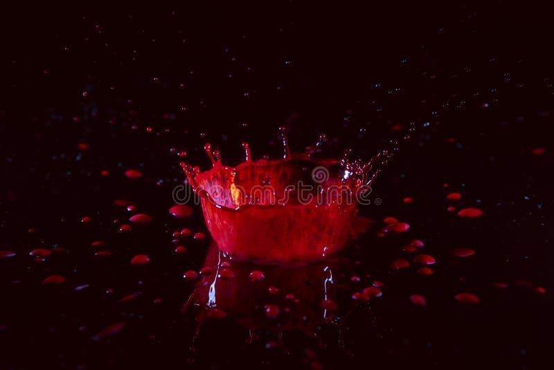 Van de het Waterplons van de eindeactie de Rode Kroon royalty-vrije stock foto