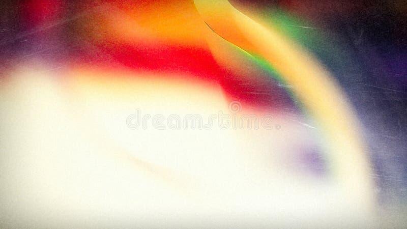 Van de de Illustratie grafische kunst van de hemel Lichte Regenboog Mooie elegante het ontwerpachtergrond stock illustratie