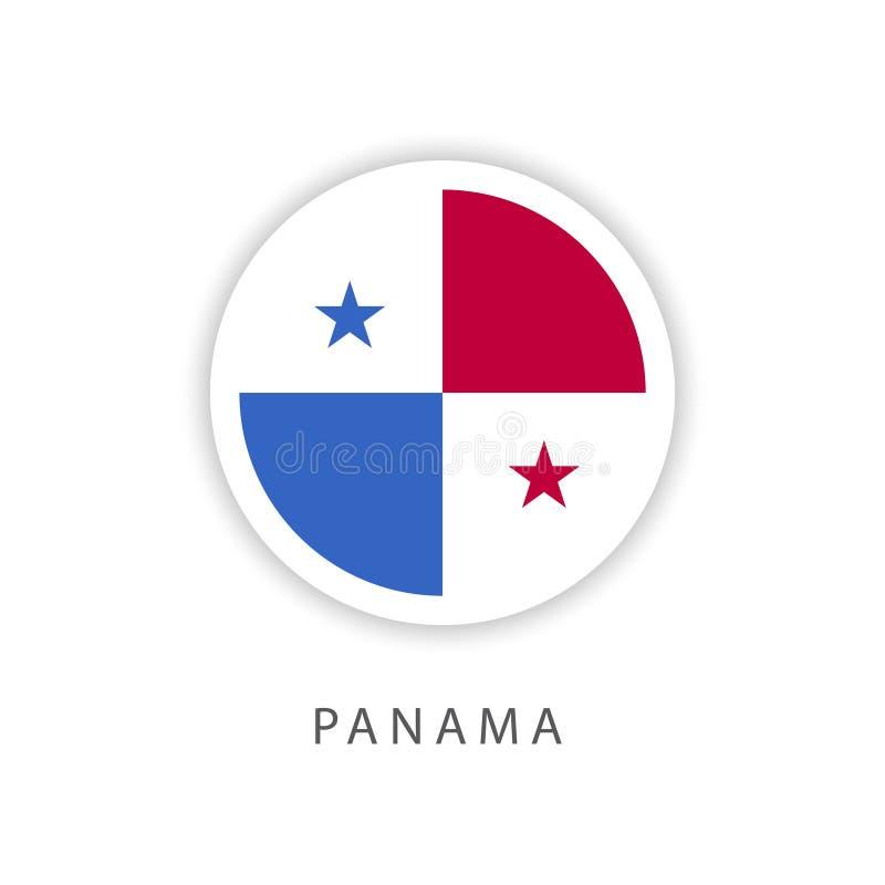 Van de de Knoopvlag van Panama Illustrator van het het Malplaatjeontwerp de Vector vector illustratie