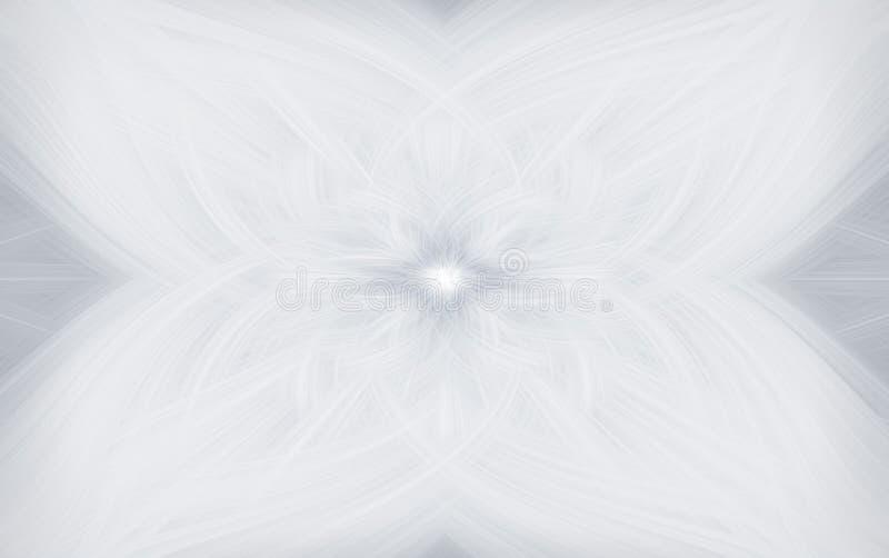Van de kunstillustratie zwart-wit patroon als achtergrond Ornament stock illustratie