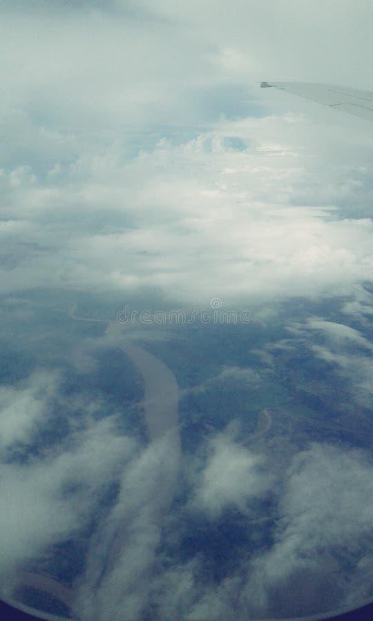 Van de lucht royalty-vrije stock foto