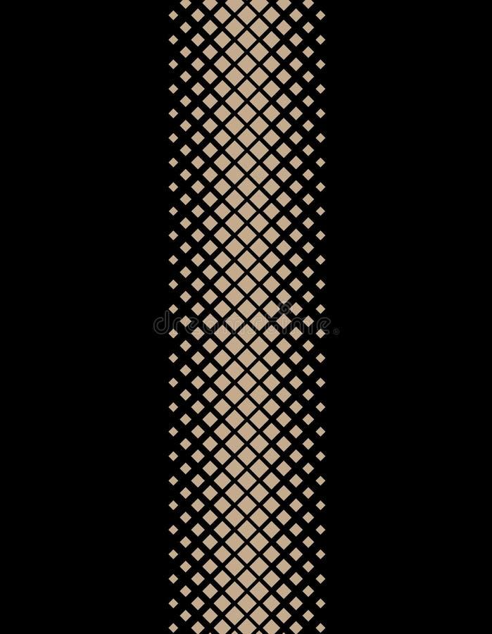 Van de de manier mooie stijl van geometrisch ontwerp de zwarte gouden lijnen textuur van de de illustratiestof stock illustratie